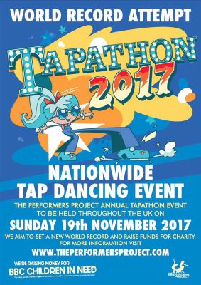 Tapathon 2017 for Children in Need