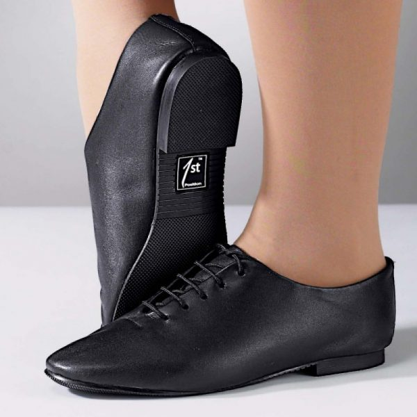 Simply Dance Academy Black Jazz Shoes