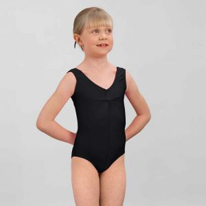 Simply Dance Academy Black Leotard