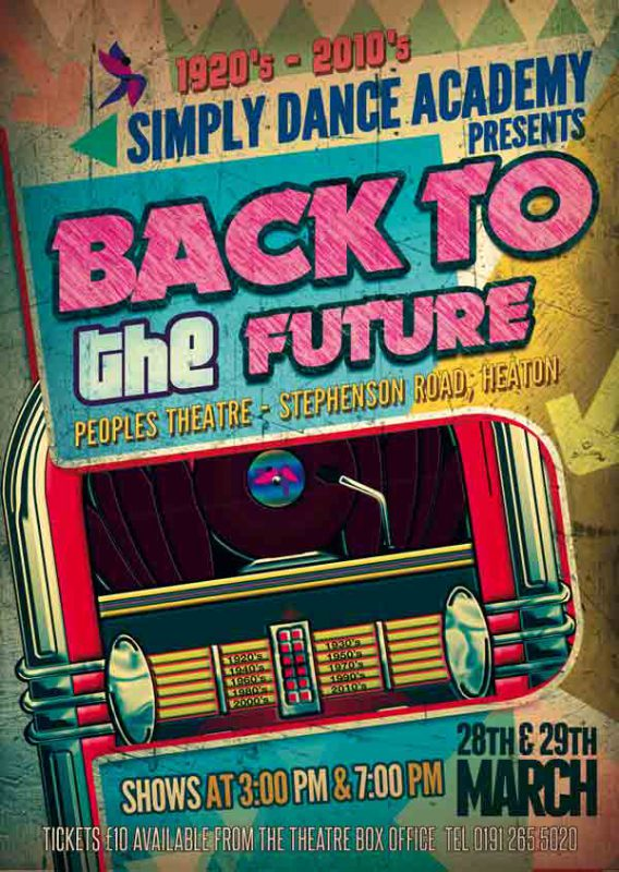 Our 2015 Show – Back to The Future