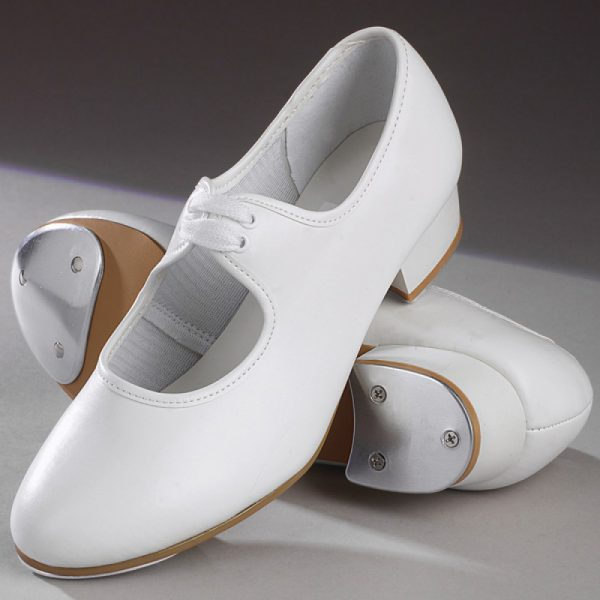 Simply Dance Academy White Tap Shoes